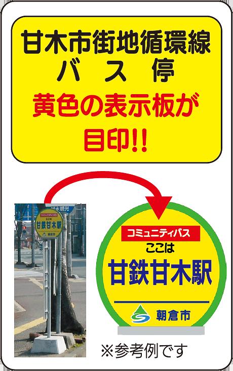 100円(ワンコインバス)のコミュニティーバス