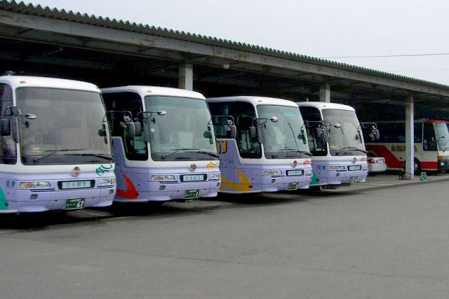 甘木観光バス バス